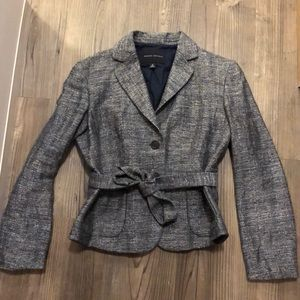 Banana Republic size M blue tweed blazer
